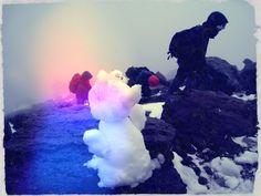 Nevado de Toluca 4 de nov 012  Muñeco emocionado...
