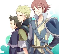 inigo,owain and brady