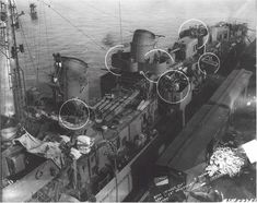 USS O´Bannon DD-450 January 6 1944 at Mare Island after overhaul and weapons upgrades
