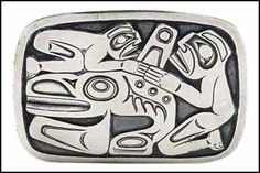 Leader in selling artwork by Canadian artist William Ronald (Bill) Reid. Contact us to buy or sell art by William Ronald (Bill) Reid through our gallery. Mayan Symbols, Viking Symbols, Egyptian Symbols, Viking Runes, Ancient Symbols, Bill Reid, American Indian Tattoos, Chicano Tattoos, Wiccan Tattoos