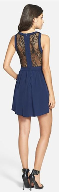 pretty lace inset skater dress http://rstyle.me/n/hwp5dr9te