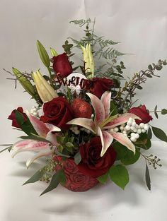 Red rose and satagazer Get Well Flowers, Fall Flowers, Anniversary Flowers, Flower Delivery Service, Order Flowers Online, Flowers Delivered, Funeral Flowers, Passion Flower, Local Florist