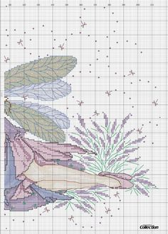 "Photo from album ""Cross Stitch Collection 208 апрель on Yandex. Cross Stitch Numbers, Cross Stitch Charts, Cross Stitch Designs, Cross Stitch Patterns, Fantasy Cross Stitch, Cross Stitch Fairy, Cross Stitch Angels, Cross Stitching, Cross Stitch Embroidery"