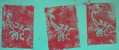 Bug prints- Grade 2