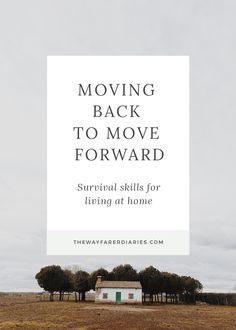Moving Back to Move Forward – Survival Skills for Living at Home | The Wayfarer Diaries /// How to survive moving back in with your parents when saving money for long term travel!