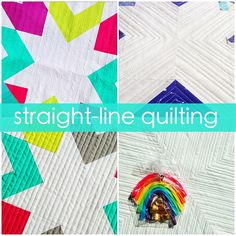 "@canoercreations's photo: ""I'm sharing a few straight-line quilting tips & techniques on the blog today // link in profile."""