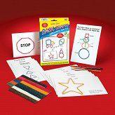 PODSTAWOWE KSZTAŁTY - WIKKI STIX - BASIC SHAPES - Buy4Kids - zestawy kreatywne