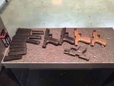 A little Glock 9mm family