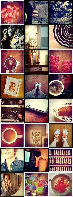 Love a collage    http://eliseblaha.typepad.com/golden/2011/09/last-week-in-instagram.html