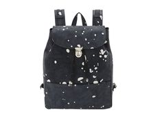 ILLESTEVA Paint-Spattered Charlie Backpack $ 855 one of our Top Ten Fashionable Backpacks #illesteva