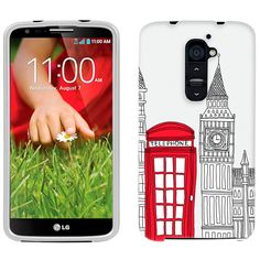 LG G2 London Red Telephone Booth Phone Case Cover $8.90