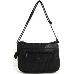 cool Womens Super Soft Nappa Leather Shoulder Bag / Handbag with Two Main Zipped Compartments (Black / Brown / Navy / Beige / Tan)