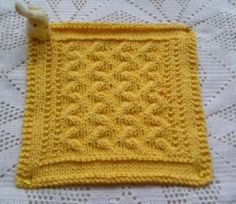 Ribbons and Sunshine Cloth---and many other free patterns---Peaches And Creme Yarns