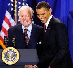 *SENATOR EDWARD KENNEDY ~ U.S. President Barack Obama