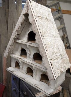 antique dovecote large birdhouse victorian by LynxCreekDesigns, $149.99
