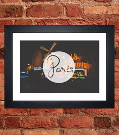 Items similar to The Moulin Rouge Print on Etsy My Etsy Shop, Digital, Unique Jewelry, Frame, Handmade Gifts, Prints, Vintage, Moulin Rouge, Picture Frame