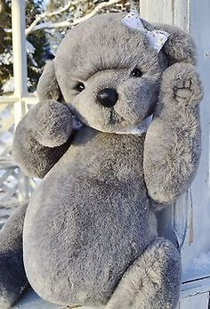 Collectible-teddy-bear-Helena-19-inches