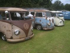 Vw splitscreen campers
