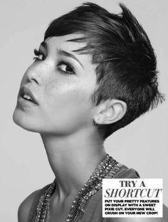 Edgy Kurzes Haar: Pixie Haarschnitte   #haarschnitte #kurzes #pixie