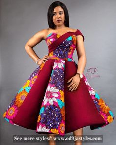 Kente Fabric Designs: See These Kente Styles For Fashionable Ladies - Lab Africa Short African Dresses, Latest African Fashion Dresses, African Inspired Fashion, African Print Dresses, African Print Fashion, Ankara Fashion, African Prints, Trendy Ankara Styles, Kente Styles