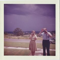 Friday 13th, 1961: hello Maude, hello Jimbo. Enjoy your vacay.