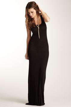 Sleeveless Scoop Neck Maxi Dress from HauteLook on Catalog Spree