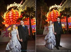 Las Vegas Strip Photo Tour, Exceed Photography Las Vegas, Vegas Wedding Photos, Creative Las Vegas Wedding Pictures