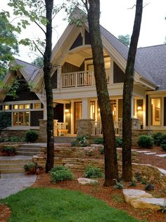 Stone And Brick Exterior Design 99 Awesome Pictures (7)
