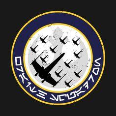 Awesome 'Wraith+Squadron' design on TeePublic!