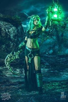 Cosplayer: Ellei Marie Photographer: www.facebook.com/davidlovephotography Character: Thresh From: League of Legends Country: United States