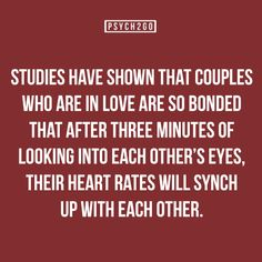 I read this and didn't think of how cute it was... I thought of how awkward it is that people stare into each other's eyes for three minutes... The hell?