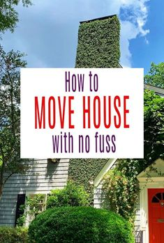 A look t home to move home with no fuss. Use these simple tips to make moving house easy, simple and straightforward and completely fuss free. Beautiful Space, Beautiful Homes, Moving Home, Amazing Transformations, Buying A New Home, Small Homes, Home Hacks, New Builds, Simple House