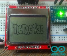 This is classic game of Tic Tac Toe.It is easy project, all you need for this is:3 ButtonsNokia 5110 displayArduino (I used nano)
