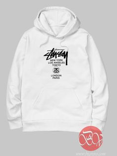 Stussy World Tour Hoodie //Price: $36.00    #clothing #shirt #tshirt #tees #tee #graphictee #dtg #bigvero #OnSell #Trends #outfit #OutfitOutTheDay #OutfitDay
