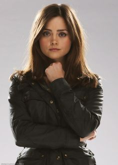 Jenna Coleman picture of the day, as Clara Oswald in a promotional picture for The Day of the Doctor. Jenna Coleman, Doctor Who Clara, Doctor Who Companions, David Tennant Doctor Who, Doctor Who Quotes, Clara Oswald, Rory Williams, Donna Noble, British Actresses