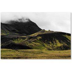 Trademark Fine Art 'Black Mountains' Canvas Art by Philippe Sainte-Laudy, Size: 12 x 19, Multicolor