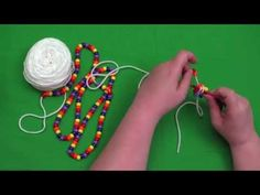 Bead Crochet Tutorial Series, Video 3: Starting a Bracelet - YouTube