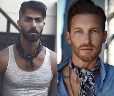 men fashion neckerchief