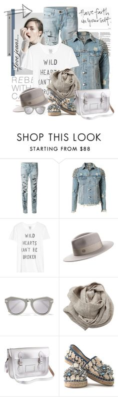 """Sem título #2511"" by bellerodrigues ❤ liked on Polyvore featuring rag & bone, UNIF, Zoe Karssen, Maison Michel, Karen Walker, Brunello Cucinelli, J.Crew and Maria La Rosa"