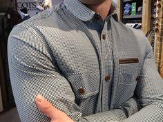 Marshall Artist plaid hunting shirt from Gotstyle Menswear $145.