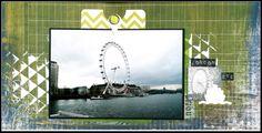 London Eye elisascrap64.blogspot.com