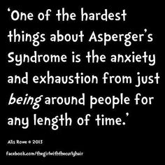 Asperger's syndrome is the mildest form of autism and includes higher functioning. Here are some of the common symptoms associated with Asperger's Syndrome. High Functioning Autism, Autistic People, Autism Sensory, Adhd And Autism, Sensory Processing Disorder, Autism Spectrum Disorder, Autism Awareness, Disorders, Anxiety
