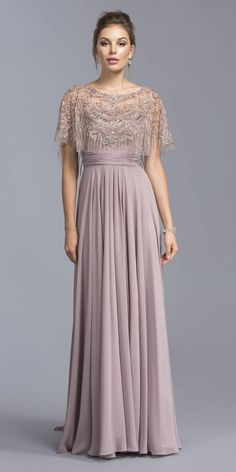 Mauve bodenlanges formelles Kleid mit gesticktem Poncho Aspeed USA Mauve bodenlanges Abendkleid mit besticktem Poncho - DiscountDressShop Source by Mob Dresses, Short Dresses, Fashion Dresses, Bridesmaid Dresses, Bride Dresses, Petite Dresses, Dress Long, Mother Of Groom Dresses, Mothers Dresses