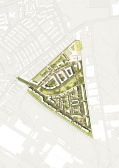 West 8 Urban Design & Landscape Architecture / projects / Grüne Mitte Lichtenreuth (Green Heart Lichtenreuth)