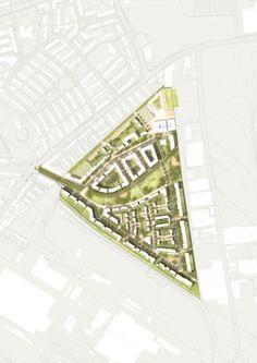 West 8 Urban Design & Landscape Architecture / projects / Grüne Mitte Lichtenreuth (Green Heart Lichtenreuth)