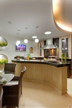 Casa Malibu: Casas modernas por Arquiteto Aquiles Nícolas Kílaris - MESA PARA A LOJA NESSE MODELO DE BANCADA