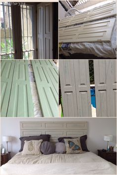 Curtains, Bedrooms, Diy, House, Handmade, Home Decor, Mariana, Distressed Wood Furniture, Cozy Bedroom