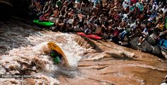 Summer Mountain Games in Vail, Kayak Freestyle Event.