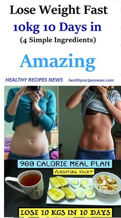 Lose Weight Fast in 10 Days Simple Ingredients) - Healthy Recipes News Weight Loss Diet Plan, Weight Loss Plans, Weight Loss Program, Best Weight Loss, Weight Gain, Lose Belly Fat Quick, Remove Belly Fat, Lose Fat, How To Lose Weight Fast