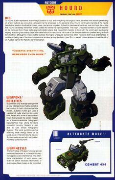 Transformers Universe - Gallery: G1 Hound